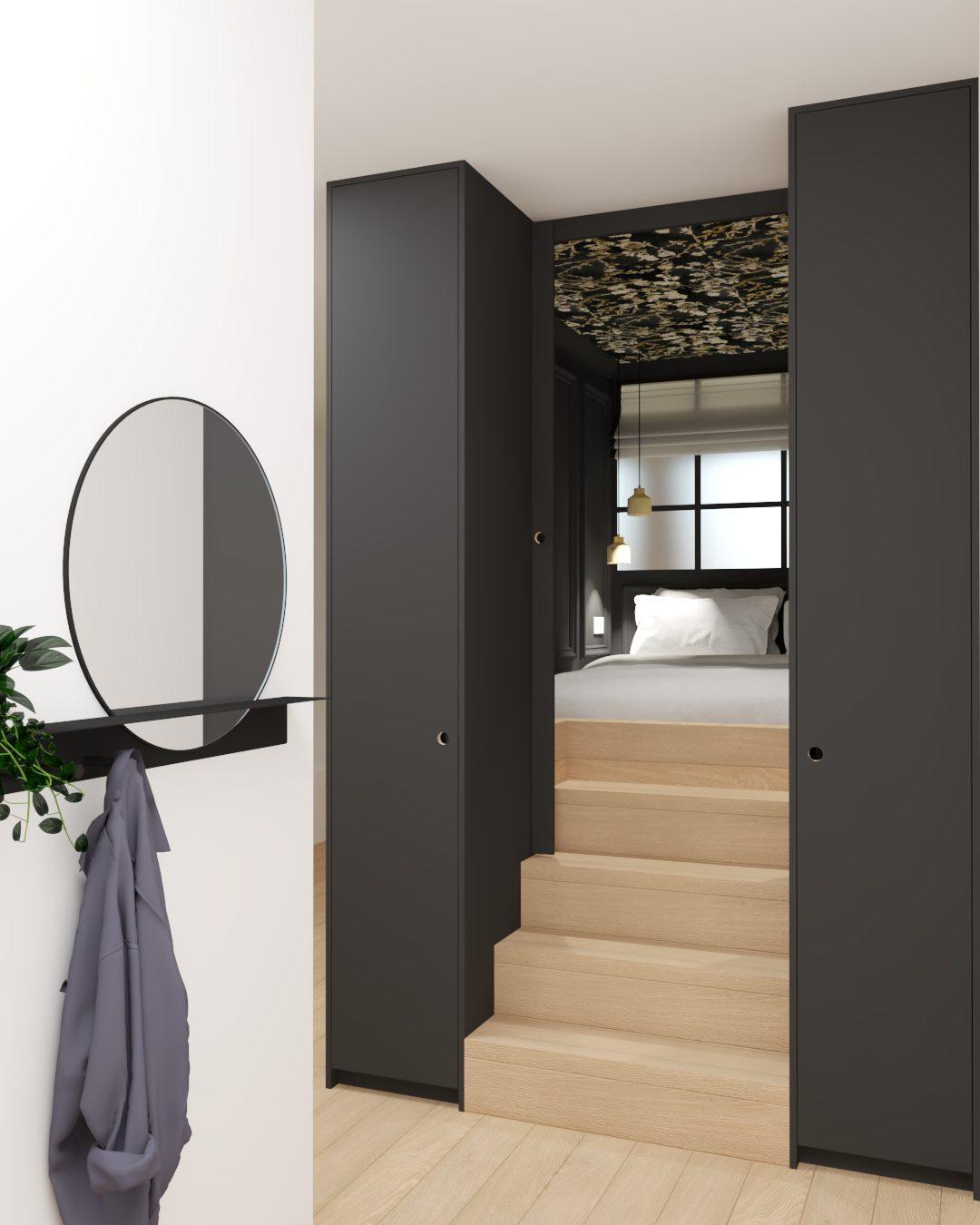 slaapkamer ontwerp interieur Nijmegen Amsterdam