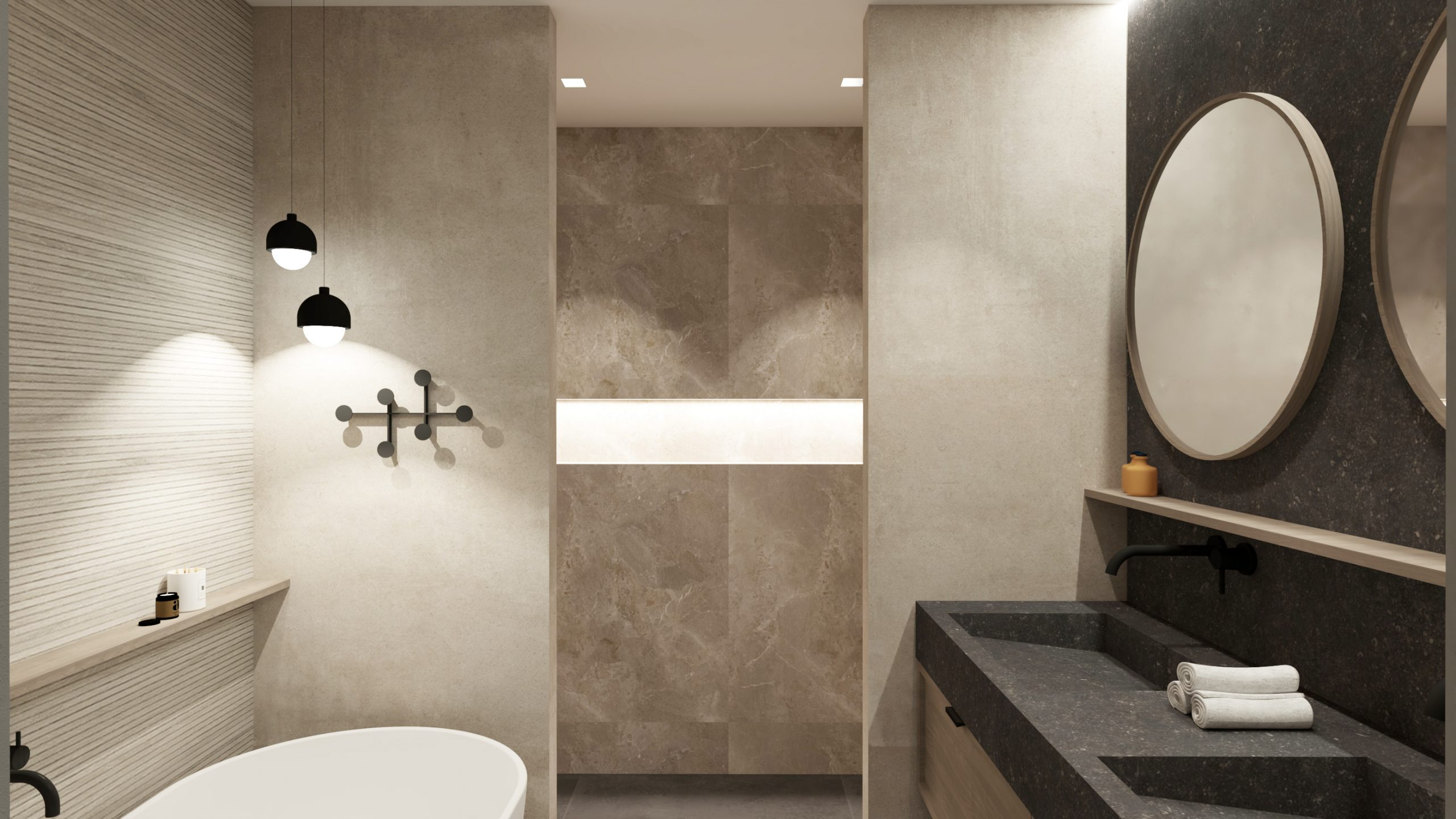 Luxe badkamer ontwerp