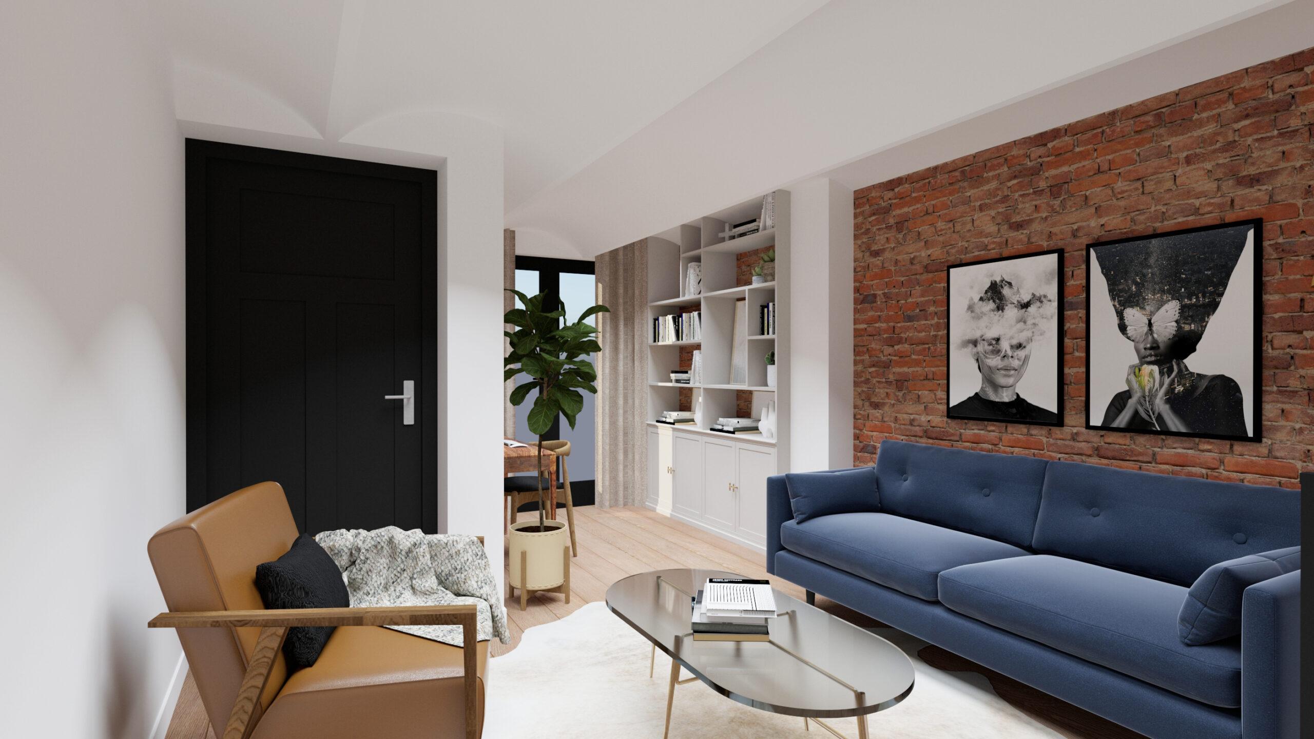 logeerkamer thuiskantoor Amsterdam